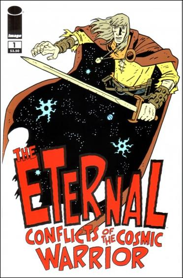 Eternal Conflicts of the Cosmic Warrior 1-A by Image