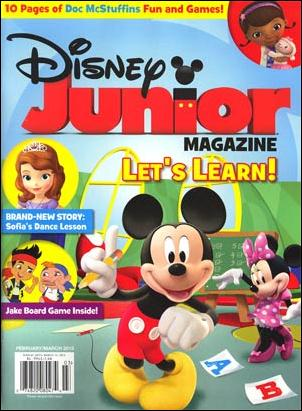 Disney Junior Magazine 11-A by Disney