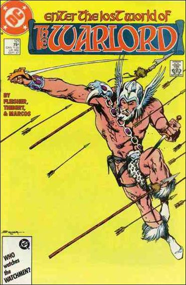 Warlord (1976) 121-A by DC