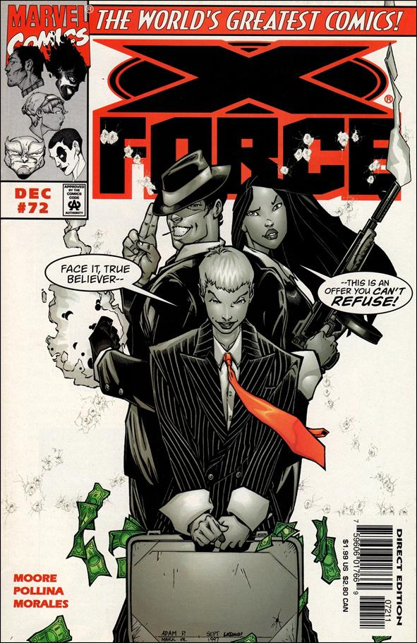 X-Force (1991) 72-A by Marvel