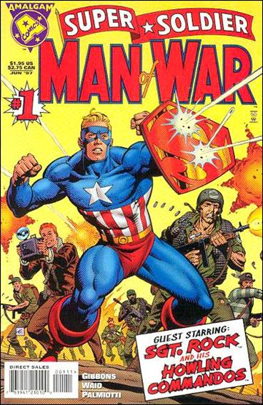Super Soldier: Man of War 1-A by Amalgam