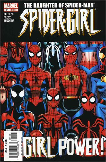 Spider-Girl (1998) 91-A by Marvel