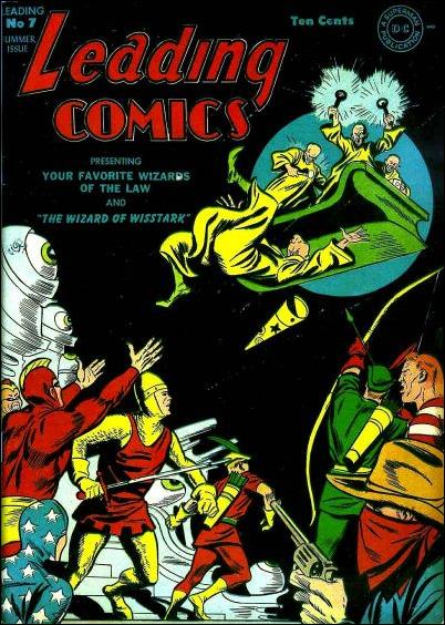 Leading Comics 7-A by DC