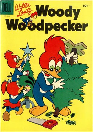 Walter Lantz Woody Woodpecker  34-A