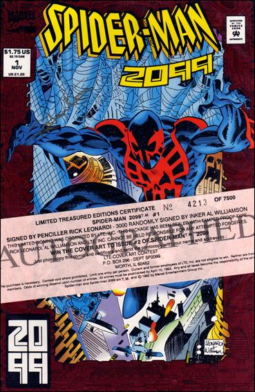 Spider-Man 2099 1-D by Marvel