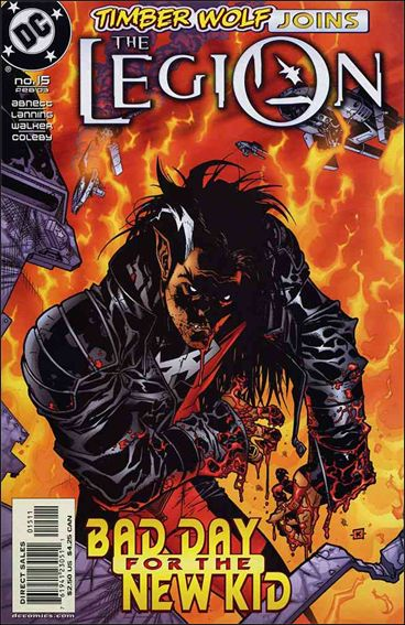 Legion (2001) 15-A by DC