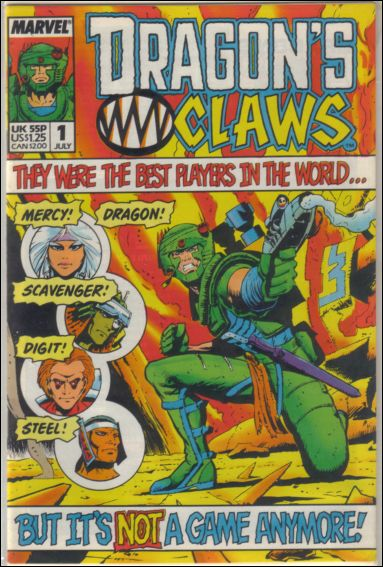 Dragon's Claws (UK) 1-A by Marvel UK