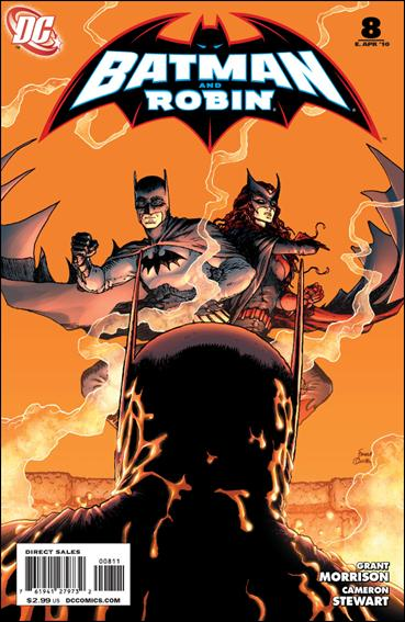 Batman and Robin (2009) 8-A by DC