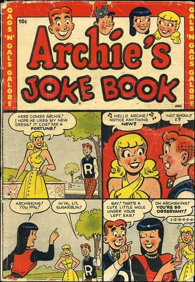 Archie's Jokebook Magazine 1-A by Archie
