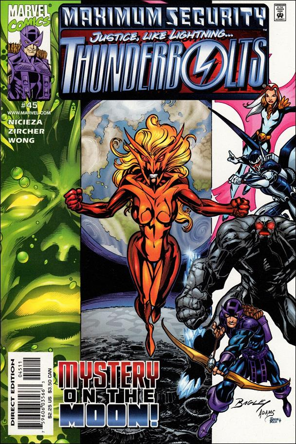 Thunderbolts (1997) 45-A by Marvel