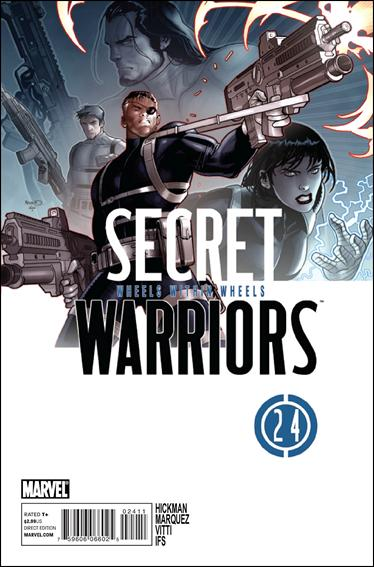 Secret Warriors 24-A by Marvel