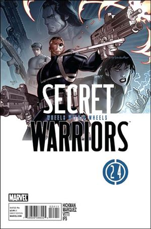 Secret Warriors 24-A