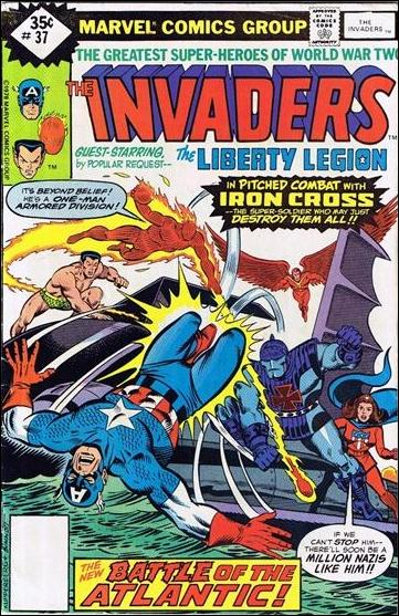 Invaders (1975) 37-C by Marvel