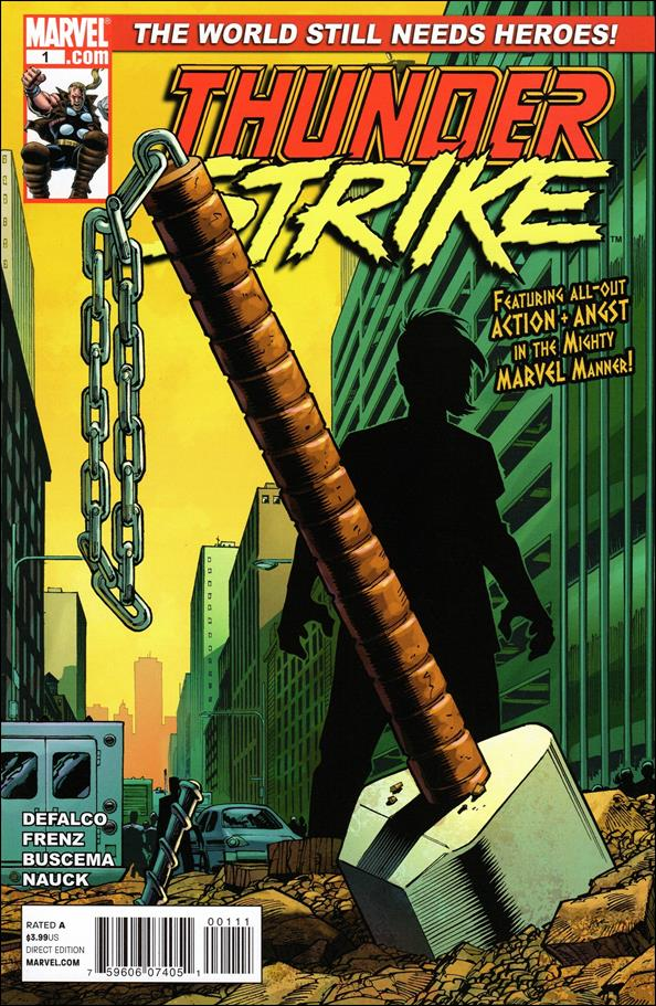 Thunderstrike (2011) 1-A by Marvel