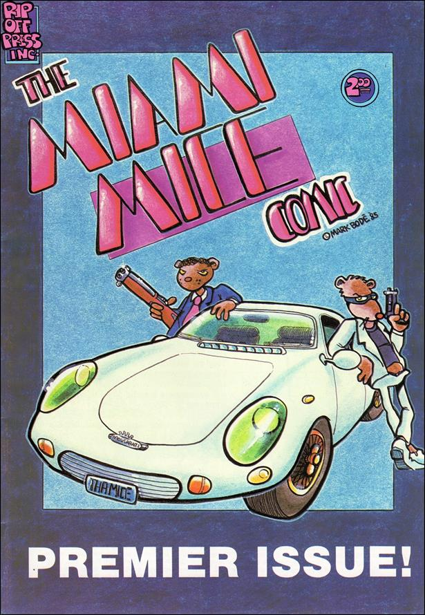 Miami Mice Comic 1-B by Rip Off Press
