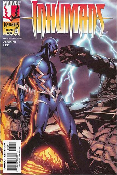 Inhumans (1998) 6-A by Marvel