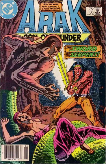Arak Son of Thunder 36-A by DC