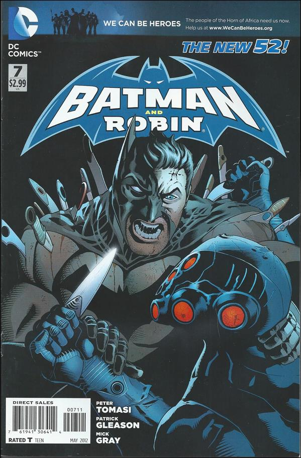 Batman and Robin (2011) 7-A by DC
