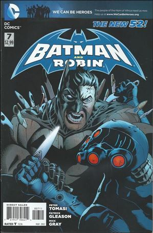Batman and Robin (2011) 7-A