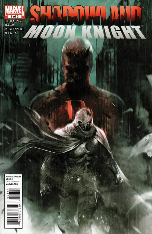 Shadowland: Moon Knight 1-A by Marvel