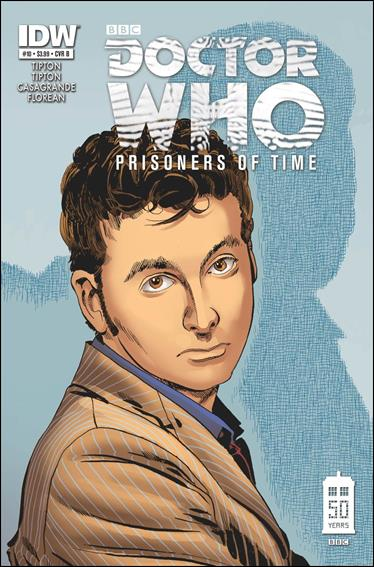 Doctor Who: Prisoners Of Time  10-B by IDW