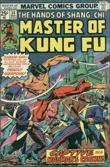 Master of Kung Fu 34-A by Marvel
