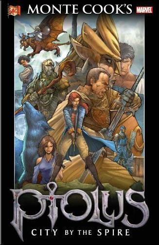 Monte Cook's Ptolus: City by the Spire 1-A by Marvel