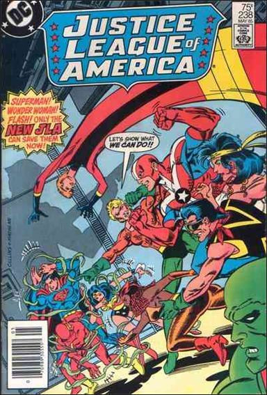 Justice League of America (1960) 238-A by DC