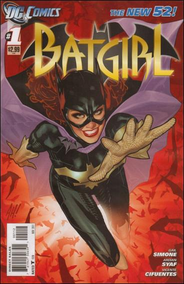 Batgirl (2011) 1-B by DC