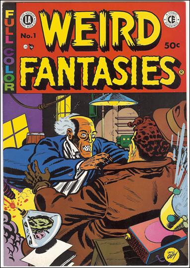 Weird Fantasies 1-A by Los Angeles Comic Book Company