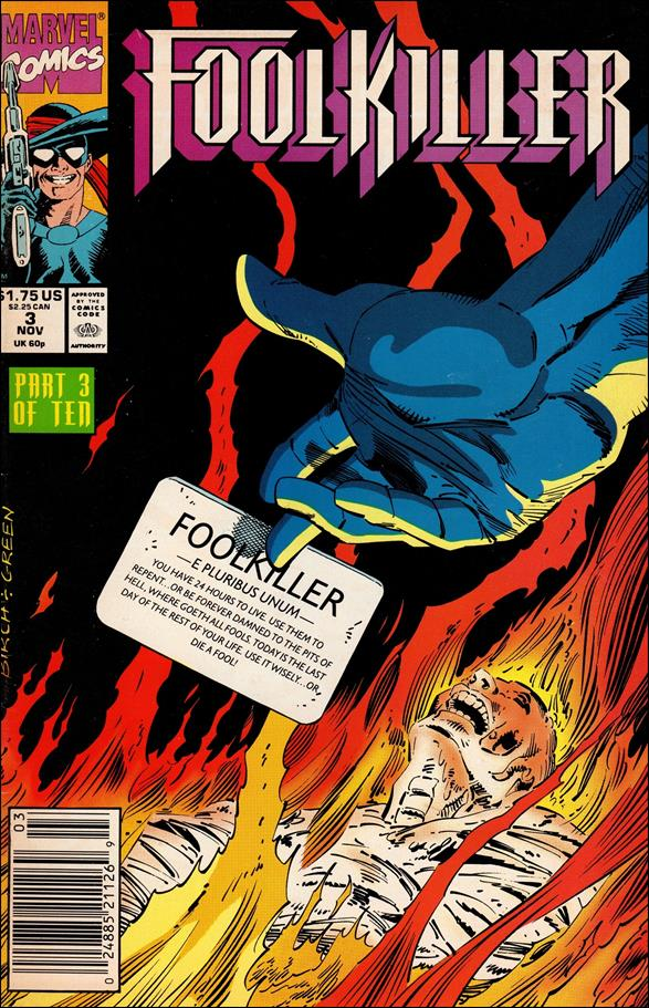 FoolKiller (1990) 3-A by Marvel