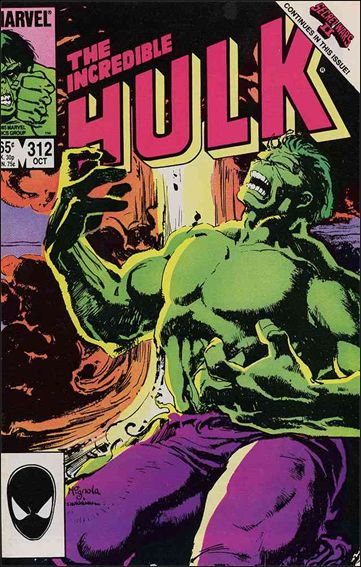Incredible Hulk (1968) 312-A by Marvel