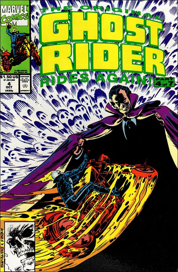Original Ghost Rider Rides Again 4-A by Marvel