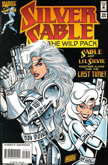 Silver Sable & The Wild Pack 35-A by Marvel