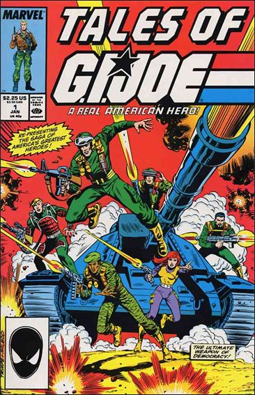 Tales of G.I. Joe 1-A by Marvel