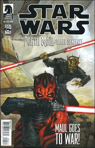Star Wars: Darth Maul - Death Sentence 4-A by Dark Horse