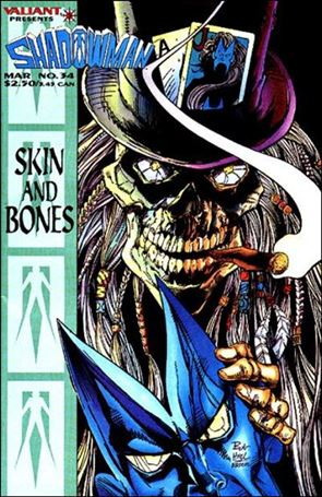 Shadowman (1992) 34-A