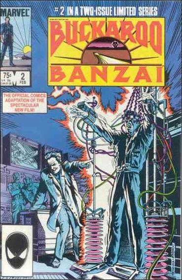 Buckaroo Banzai 2-A by Marvel