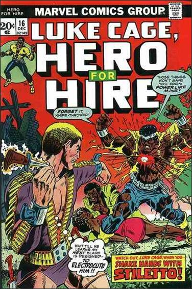 Hero for Hire 16-A by Marvel