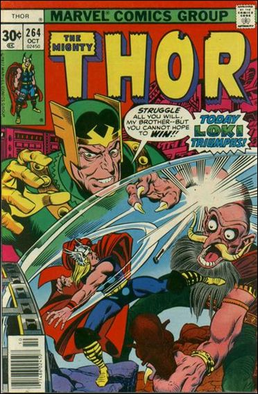 Thor (1966) 264-A by Marvel