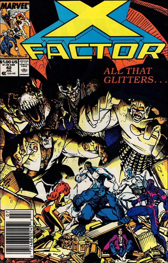 X-Factor (1986) 42-A by Marvel