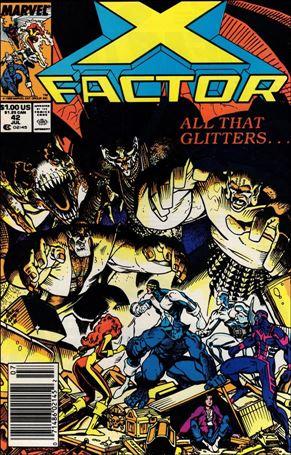 X-Factor (1986) 42-A