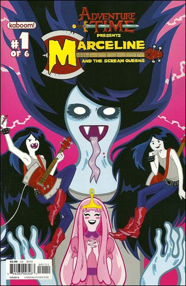 Adventure Time: Marceline and the Scream Queens 1-B by Kaboom!