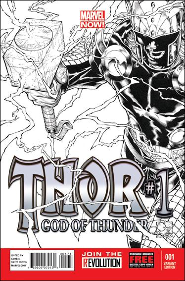 Thor: God of Thunder 1-E by Marvel