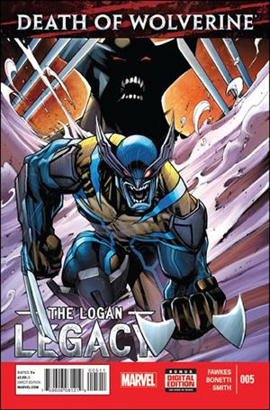 Death of Wolverine: The Logan Legacy 5-A