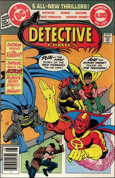 Detective Comics (1937) 493-A by DC