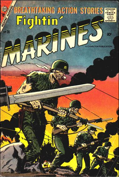 Fightin' Marines (1953) 24-A by Charlton