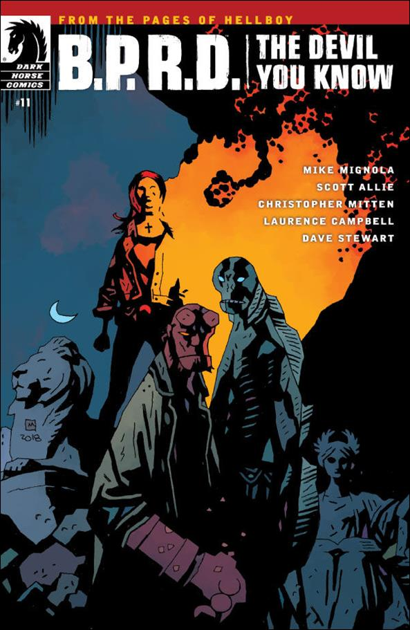 B.P.R.D.: The Devil You Know 11-A by Dark Horse
