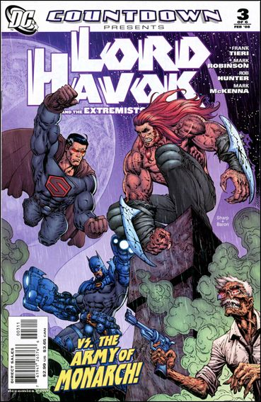 Countdown Presents: Lord Havok & the Extremists 3-A by DC