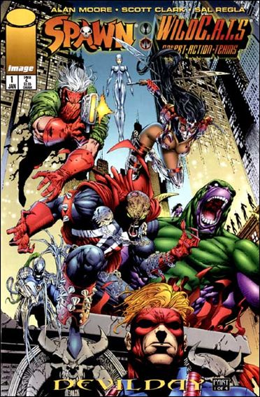 Spawn/WildC.A.T.s 1-A by Image